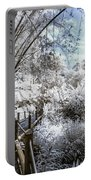 Walking Into The Infrared Jungle 2 Portable Battery Charger