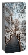 Walking Into The Infrared Jungle 3 Portable Battery Charger