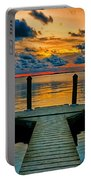 Walking Into The Sunset Portable Battery Charger