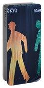 Walking Man Symbol Portable Battery Charger
