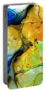 Walking On Sunshine - Abstract Painting By Sharon Cummings Portable Battery Charger