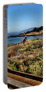 Walking On The Boardwalk Portable Battery Charger