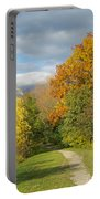 Walking Through Autumn Portable Battery Charger