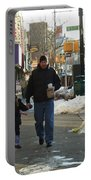 Walking With Dad Portable Battery Charger