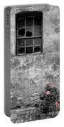 Window And Flowers Portable Battery Charger