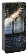 Wall Of Tombstones Knocked Down During Civil War Portable Battery Charger