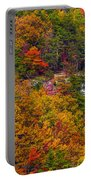 Wall Of Trees Portable Battery Charger