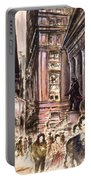 New York Wall Street - Fine Art Portable Battery Charger