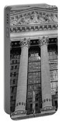Wall Street New York Stock Exchange Nyse Bw Portable Battery Charger
