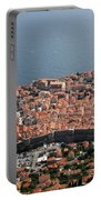 Walled City Of Dubrovnik Portable Battery Charger