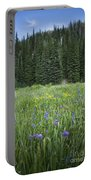 Wallowa Wildflowers Portable Battery Charger