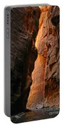 Wallstreet - The Narrows In Zion National Park. Portable Battery Charger