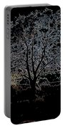 Walnut Tree Series Glowing Edges Portable Battery Charger