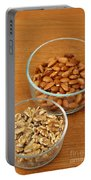 Walnuts And Almonds Portable Battery Charger