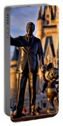 Walt And Mickey Portable Battery Charger
