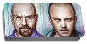 Walter And Jesse - Breaking Bad Portable Battery Charger
