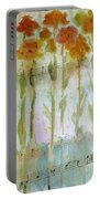 Waltz Of The Flowers Portable Battery Charger