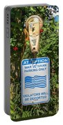 Veteran Parking Sign Portable Battery Charger
