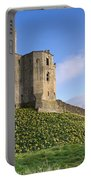 Warkworth Castle In Spring Portable Battery Charger