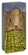 Warkworth Castle In The Sky Portable Battery Charger
