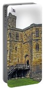 Warkworth In The Fog Portable Battery Charger