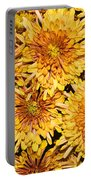 Warm And Sunny Yellows Golds And Oranges Portable Battery Charger