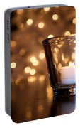 Warm Christmas Glow Portable Battery Charger