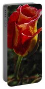 Warm Colored Rosebud  Portable Battery Charger
