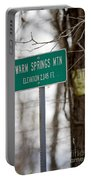 Warm Springs Mountain  Portable Battery Charger