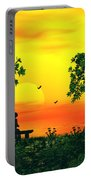 Warm Sunset Portable Battery Charger