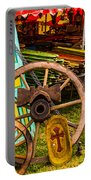 Warrenton Antique Days Wood Wheels And Wonders Portable Battery Charger
