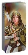 Warrior Bride Of Christ Portable Battery Charger
