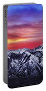 Wasatch Sunrise 2x1 Portable Battery Charger by Chad Dutson