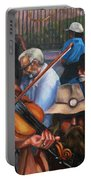 Washboard Lissa On Fiddle Portable Battery Charger