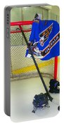 Washington Capitals Blue Away Hockey Jersey Portable Battery Charger