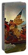 Washington Crossing The Delaware Emanuel Leutze 1851 Portable Battery Charger