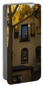 Washington D C Facades - Dupont Circle Neighborhood In Yellow Portable Battery Charger
