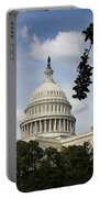 Washington Dc Capitol Dome Portable Battery Charger