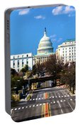 Washington D.c. - Elevated View Portable Battery Charger