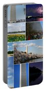 Washington Monument Collage 2 Portable Battery Charger