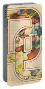 Washington Nationals Logo Art Portable Battery Charger