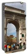 Washington Square Arch New York City Portable Battery Charger