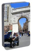 Washington Square Pianist Portable Battery Charger