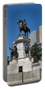 Washington Statue Richmond Portable Battery Charger