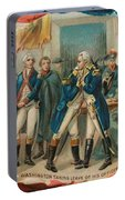 Washington Taking Leave Of His Officers Portable Battery Charger