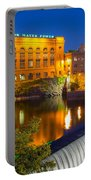 Washington Water Power Portable Battery Charger by Inge Johnsson