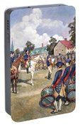 Washingtons Army, 1776 Portable Battery Charger