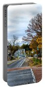 Washington's Crossing In The Fall Portable Battery Charger