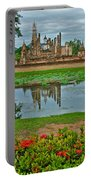 Wat Mahathat In13th Century Sukhothai Historical Park-thailand Portable Battery Charger