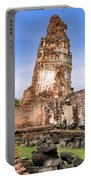 Wat Mahathat Temple In Ayutthaya Portable Battery Charger